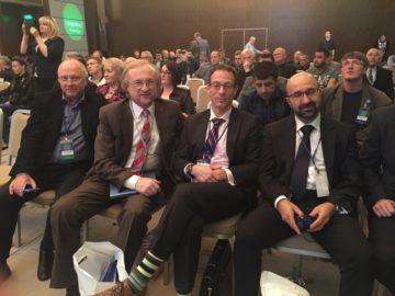 Харківб 2016 конференція з профилактики інфекціх при ендопротезуванні Паливода, Зазірний, Шварцкопф, Джавад Парвізі