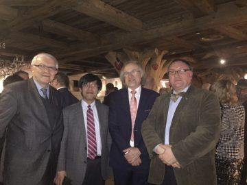 С коллегами из Польши и Японии