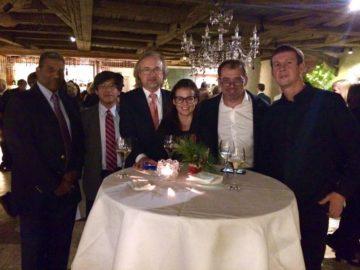 С коллегами из США, Японии, Польши, Австрии и Германии